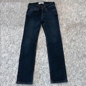 Abercrombie kids straight leg slim 11/12